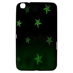 Nautical Star Green Space Light Samsung Galaxy Tab 3 (8 ) T3100 Hardshell Case  by Alisyart