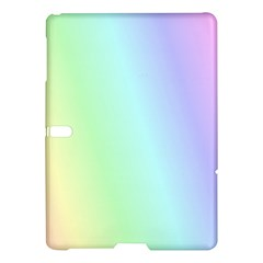 Multi Color Pastel Background Samsung Galaxy Tab S (10 5 ) Hardshell Case  by Simbadda