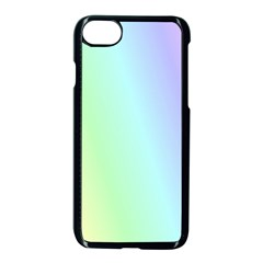 Multi Color Pastel Background Apple Iphone 7 Seamless Case (black) by Simbadda