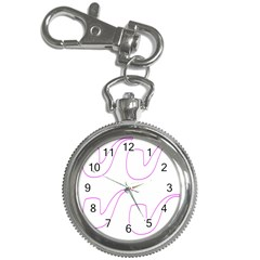 Pipe Template Cigarette Holder Pink Key Chain Watches by Alisyart