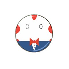 Peppermint Butler Wallpaper Face Hat Clip Ball Marker by Alisyart
