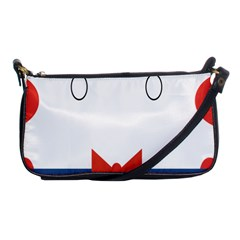 Peppermint Butler Wallpaper Face Shoulder Clutch Bags by Alisyart