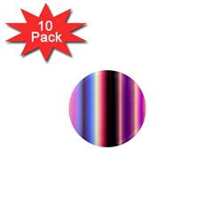 Multi Color Vertical Background 1  Mini Magnet (10 Pack)  by Simbadda