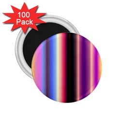 Multi Color Vertical Background 2 25  Magnets (100 Pack)  by Simbadda