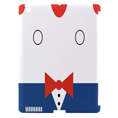Peppermint Butler Wallpaper Face Apple Ipad 3/4 Hardshell Case (compatible With Smart Cover) by Alisyart