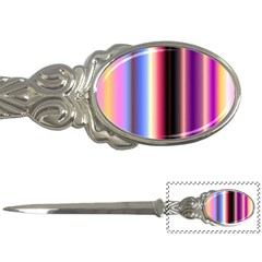 Multi Color Vertical Background Letter Openers by Simbadda