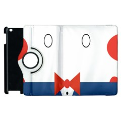 Peppermint Butler Wallpaper Face Apple Ipad 2 Flip 360 Case by Alisyart