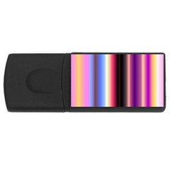 Multi Color Vertical Background Usb Flash Drive Rectangular (4 Gb) by Simbadda