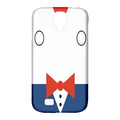 Peppermint Butler Wallpaper Face Samsung Galaxy S4 Classic Hardshell Case (pc+silicone) by Alisyart