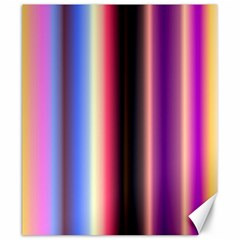 Multi Color Vertical Background Canvas 20  X 24   by Simbadda