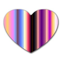 Multi Color Vertical Background Heart Mousepads by Simbadda