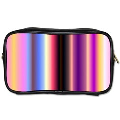 Multi Color Vertical Background Toiletries Bags 2 Side by Simbadda
