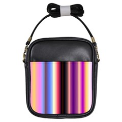 Multi Color Vertical Background Girls Sling Bags by Simbadda
