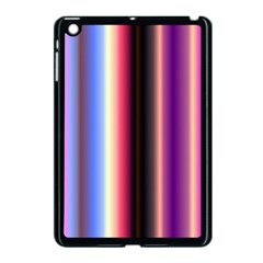 Multi Color Vertical Background Apple Ipad Mini Case (black) by Simbadda