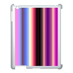 Multi Color Vertical Background Apple Ipad 3/4 Case (white) by Simbadda