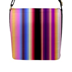 Multi Color Vertical Background Flap Messenger Bag (l)  by Simbadda