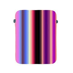 Multi Color Vertical Background Apple Ipad 2/3/4 Protective Soft Cases by Simbadda