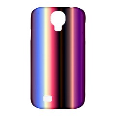 Multi Color Vertical Background Samsung Galaxy S4 Classic Hardshell Case (pc+silicone) by Simbadda