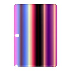 Multi Color Vertical Background Samsung Galaxy Tab Pro 12 2 Hardshell Case by Simbadda