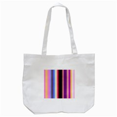 Multi Color Vertical Background Tote Bag (white) by Simbadda