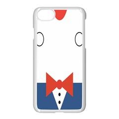 Peppermint Butler Wallpaper Face Apple Iphone 7 Seamless Case (white) by Alisyart