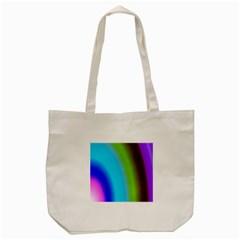 Multi Color Stones Wall Multi Radiant Tote Bag (cream) by Simbadda