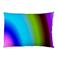 Multi Color Stones Wall Multi Radiant Pillow Case (two Sides) by Simbadda