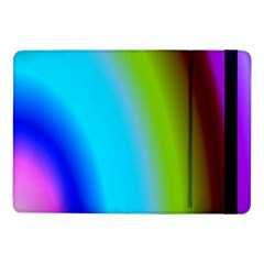 Multi Color Stones Wall Multi Radiant Samsung Galaxy Tab Pro 10 1  Flip Case by Simbadda