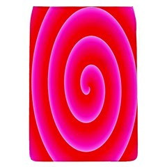 Pink Hypnotic Background Flap Covers (l)  by Simbadda