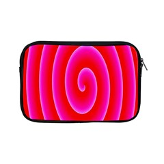Pink Hypnotic Background Apple Ipad Mini Zipper Cases by Simbadda