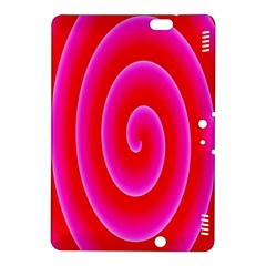 Pink Hypnotic Background Kindle Fire HDX 8.9  Hardshell Case