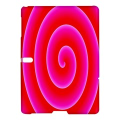 Pink Hypnotic Background Samsung Galaxy Tab S (10 5 ) Hardshell Case  by Simbadda