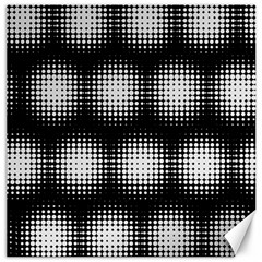 Black And White Modern Wallpaper Canvas 16  X 16   by Simbadda