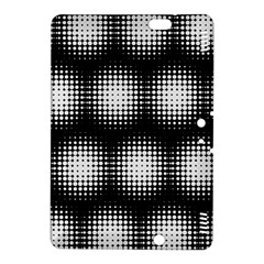 Black And White Modern Wallpaper Kindle Fire Hdx 8 9  Hardshell Case by Simbadda