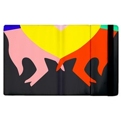 Ring Finger Romantic Love Apple Ipad 3/4 Flip Case by Alisyart