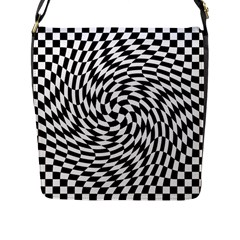 Whirl Flap Messenger Bag (l)  by Simbadda