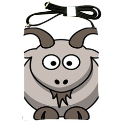 Goat Sheep Animals Baby Head Small Kid Girl Faces Face Shoulder Sling Bags by Alisyart
