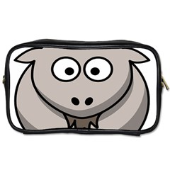 Goat Sheep Animals Baby Head Small Kid Girl Faces Face Toiletries Bags 2 Side by Alisyart