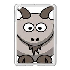 Goat Sheep Animals Baby Head Small Kid Girl Faces Face Apple Ipad Mini Case (white) by Alisyart