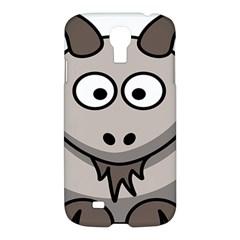 Goat Sheep Animals Baby Head Small Kid Girl Faces Face Samsung Galaxy S4 I9500/i9505 Hardshell Case by Alisyart