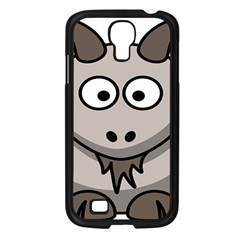 Goat Sheep Animals Baby Head Small Kid Girl Faces Face Samsung Galaxy S4 I9500/ I9505 Case (black) by Alisyart