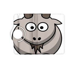 Goat Sheep Animals Baby Head Small Kid Girl Faces Face Kindle Fire Hd (2013) Flip 360 Case by Alisyart