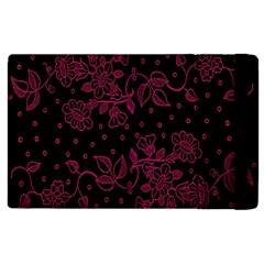 Floral Pattern Background Apple Ipad 3/4 Flip Case by Simbadda