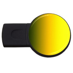 Yellow Gradient Background Usb Flash Drive Round (2 Gb)