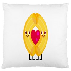 Say Pasta Love Standard Flano Cushion Case (two Sides) by Alisyart