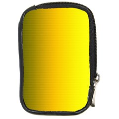 Yellow Gradient Background Compact Camera Cases by Simbadda