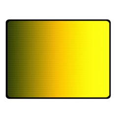 Yellow Gradient Background Fleece Blanket (small) by Simbadda