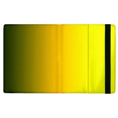 Yellow Gradient Background Apple Ipad 3/4 Flip Case by Simbadda