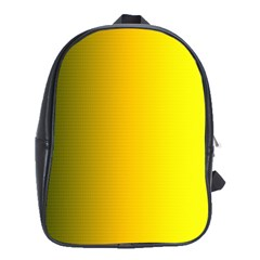 Yellow Gradient Background School Bags (xl)  by Simbadda