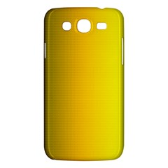 Yellow Gradient Background Samsung Galaxy Mega 5 8 I9152 Hardshell Case  by Simbadda